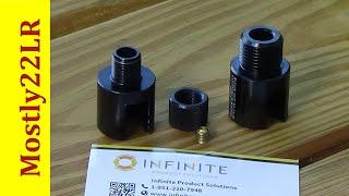 Ruger 10/22 slip-on barrel adapter for a suppressor!