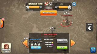 Clan wars 3 stars VN vs China