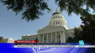 Ley beneficiaría a indocumentados en California