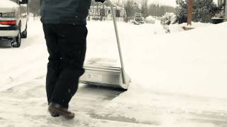 getlinkyoutube.com-Easiest way to clear snow
