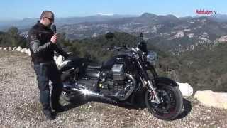 getlinkyoutube.com-MOTOTURISMO - In prova - Moto Guzzi California Custom 1400 (2013)