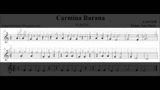 getlinkyoutube.com-CARMINA BURANA - FLAUTA - TUTORIAL