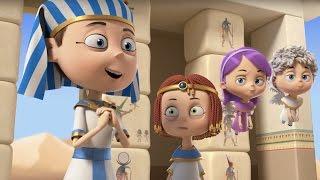 getlinkyoutube.com-Мультфильм Ангелы Бэби - След в истории (18 серия) | Поучительные мультики для детей