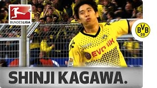 getlinkyoutube.com-Shinji Kagawa 香川真司 - Top 5 Goals