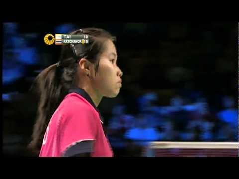 QF - WS - Inthanon Ratchanok vs Tai Tzu Ying - 2011 Yonex Denmark Open