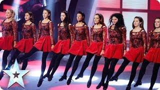 getlinkyoutube.com-Innova Irish Dance Company are the belles of BGT | Britain's Got Talent 2014