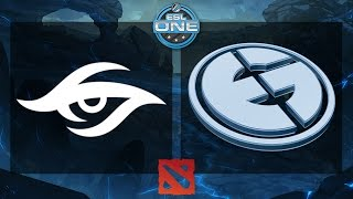 getlinkyoutube.com-Dota 2 - Team Secret vs. EG - ESL One Frankfurt 2015 - Grand Final - Game 1
