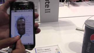 Samsung Galaxy Note 2 (II) How-To Cut Out Head, Draw, Text & Send