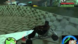 getlinkyoutube.com-GTA San Andreas Encontrando Los 8 Go-Kart