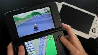 getlinkyoutube.com-Nintendo 3DS XL - Mario Kart 7 Gameplay - Online World Multiplayer Race HD