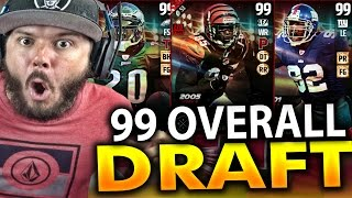 99 OVERALL PLAYER!! - MADDEN 17 DRAFT CHAMPIONS