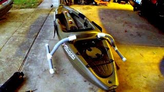 getlinkyoutube.com-New Kayak, Outrigger Tutorial, Super Creepy Dude