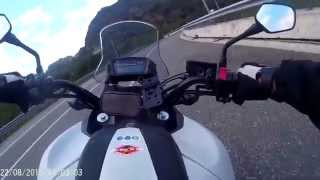 getlinkyoutube.com-HONDA NC750X A SUSA BY FABIO FORTE