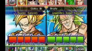 getlinkyoutube.com-DBZ : BT2 Z Fighters vs Broly