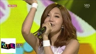 getlinkyoutube.com-[에이핑크(Apink)] - Mr.Chu@인기가요 Inkigayo 140518