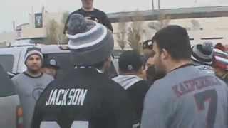 getlinkyoutube.com-San Francisco 49ers vs Oakland Raiders Fans Brawl at the Battle of the Bay