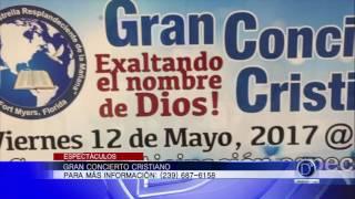 Gran Concierto Cristiano en la región. Los Relámpagos de Cristo