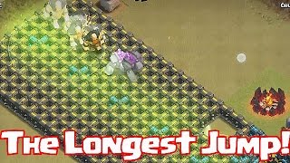 getlinkyoutube.com-Clash Of Clans - THE LONGEST JUMP (W/ 5 Jump Spells!)