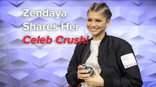 getlinkyoutube.com-Zendaya dishes on her first celebrity crush!