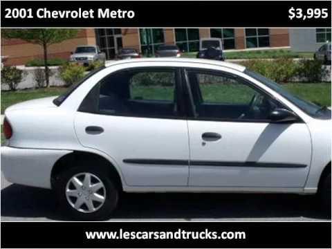 2001 Chevrolet Metro Problems, Online Manuals and Repair ...