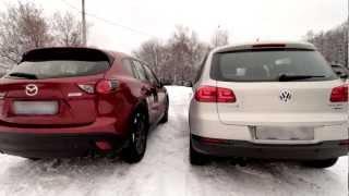 getlinkyoutube.com-Mazda cx5 vs VW Tiguan.mp4