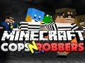 Minecraft Cops and Robbers! SkyDoesMinecraft, HuskyMudKipz, JeromeASF, and KermitPlaysMC