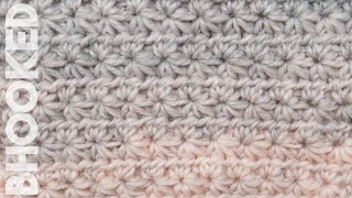 How to Crochet the Star Stitch Pattern