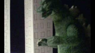 getlinkyoutube.com-Godzilla vs. Gomess vs. Jirass