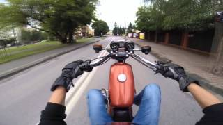 getlinkyoutube.com-Zator s51 | simson S51 Cbr 125r wheelie/Stunt 3 !