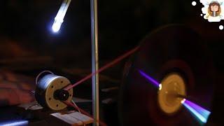 getlinkyoutube.com-Como fazer um gerador elétrico com um DVD player