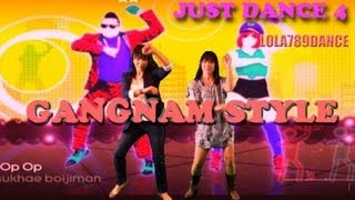 getlinkyoutube.com-Just Dance 4-Gangnam Style PSY DLC- (5 stars) Double Version XD Green Screen