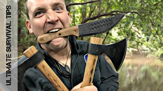 getlinkyoutube.com-NEW! 7 Epic Bushcraft / Survival Knives YOU Need (to See) in 2017