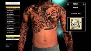 getlinkyoutube.com-How To Make Dope Tattoo Sleeve | NBA 2K16