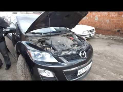 Mazda cx-7 замена сальника коленвала.Виктор Ulanovmotors