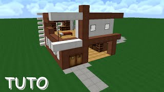 Download video minecraft maison de luxe galaxy luxe 1 - Tuto belle maison minecraft ...