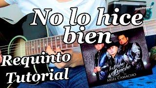 getlinkyoutube.com-No lo hice bien - Guitarra Requinto Tutorial - Los Plebes del Rancho