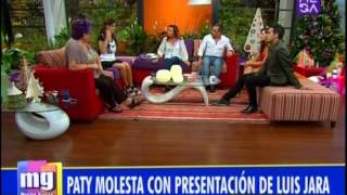 ¡Paty Maldonado se enojó con Lucho Jara!