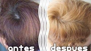 getlinkyoutube.com-Como hacer una limpieza de color en el cabello (shampoo decolorante)