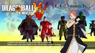getlinkyoutube.com-Dragon Ball Xenoverse - How To Make Natsu Dragneel - CaC