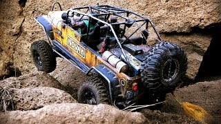 getlinkyoutube.com-2 HEAVILY MODIFIED AXIAL SCX-10 SCALERS ON RIMROCK TRAIL (NO MUSIC)