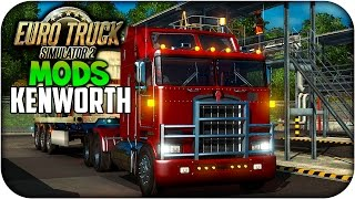 getlinkyoutube.com-Kenworth K100 v 5.0   Euro truck simulator 2   1.17.x -- 1.18.x