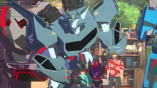 getlinkyoutube.com-Transformers Robots in Disguise Standoff