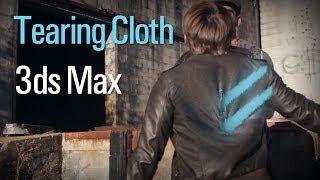 getlinkyoutube.com-Tearing Cloth in 3ds Max