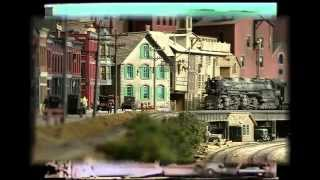 getlinkyoutube.com-model train layout, C&O Allegheny