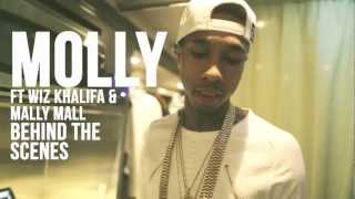 Tyga Ft Wiz Khalifa & Mally Mall: Molly [BTS]