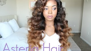 getlinkyoutube.com-Asteria Hair Brazilian Loose Wave | Installation + Review