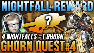 Destiny Nightfall Rewards: Winters Run [Son's Quest for the Gjallahorn Ep. 4]
