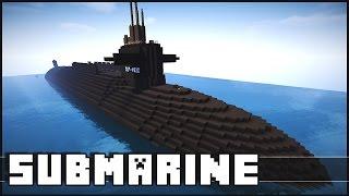 getlinkyoutube.com-Minecraft - Epic Submarine!