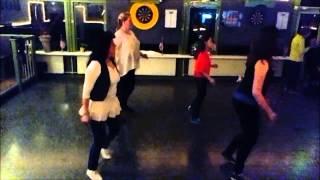getlinkyoutube.com-Chica Loca   Line Dance