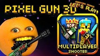 getlinkyoutube.com-Annoying Orange Plays - Pixel Gun 3D: Slender Bender!